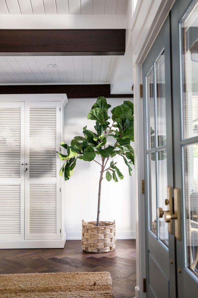 Lakehouse Custom Home Foyer Renovation by NFID Natalie Fuglestveit Interior Design, Kelowna BC