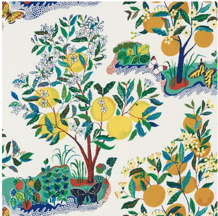 Schumacher Citrus Garden 177330